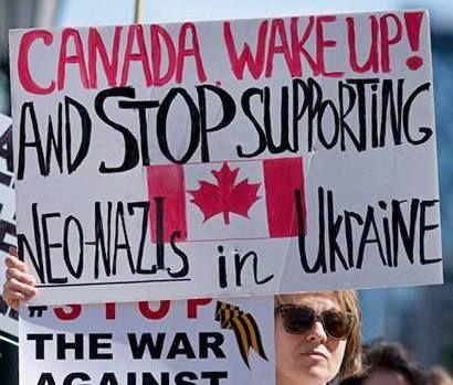 Canada fascism crime corruption Nazi politics war violence totalitarianism Ukraine genocide