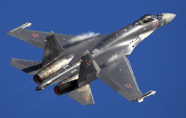 Russian Super Jet Su-35S Battle-Tested in Syria