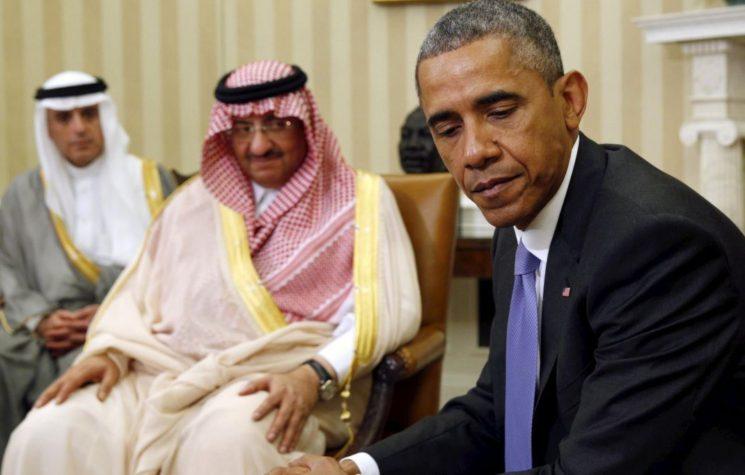 Saudi King & Princes Blackmail U.S. Government