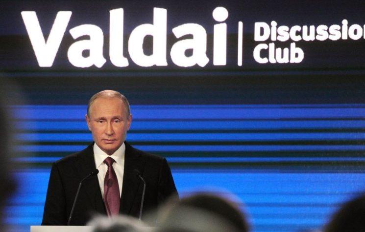 President Putin's Valdai Speech: Obama's Legacy Can Be Rectified
