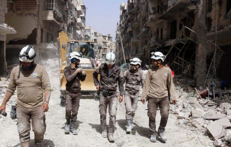 White Helmets: Fraudsters Serving Western Spy Agencies
