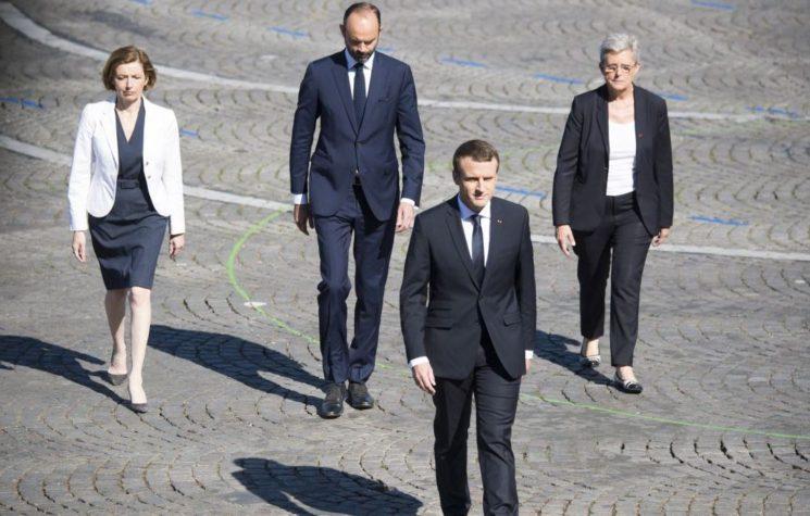 France's Macron and Saudi Prince in Artful Deception