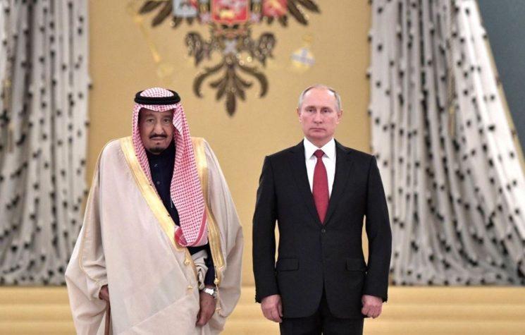 Putin Prefers Aramco to Trump's Sword Dance