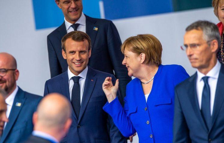 Merkel & Macron Apply Sticking Plaster on Fracturing Europe