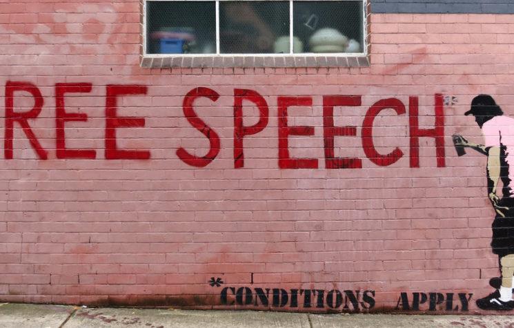 Our Free Speech Crisis