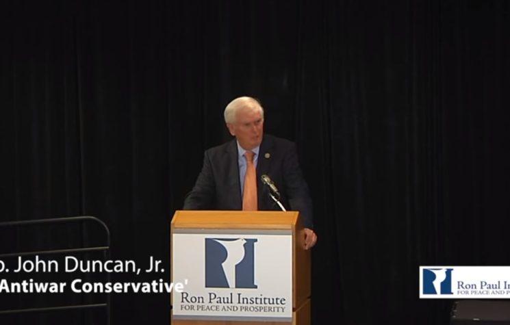 'An Antiwar Conservative' – Rep. John Duncan, Jr.