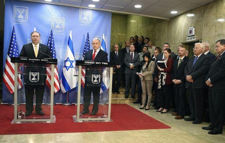 Netanyahu-Pompeo Meeting Solidifies War Plan on Iran