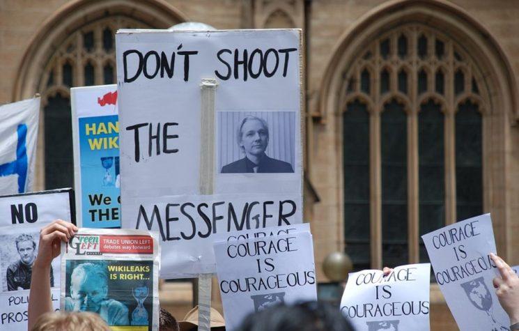 Spread of Coronavirus in Belmarsh Prison Brings Death Sentence to Free Speech