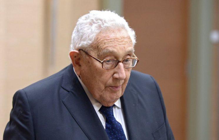 Kissinger's Self-Penned Eulogy