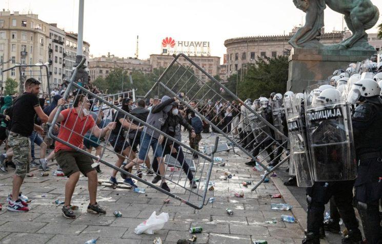 Serbia Protest Explosion – Vučić Caught Between Coronavirus and Color Revolution