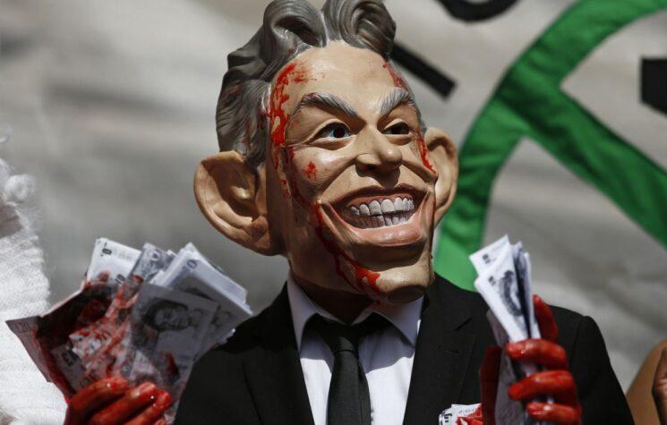 Tony Blair's Grubby Fingerprints on Trump's Mideast Deals Spells War, Not Peace