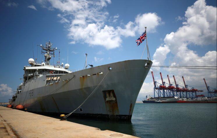 As British Warships Deploy to Black Sea, Putin Warns of Red Lines