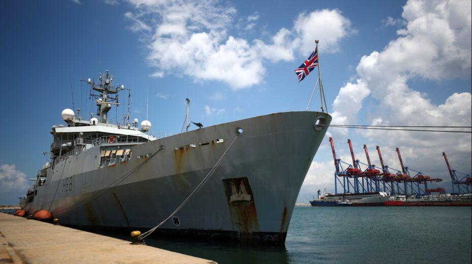 Während britische Kriegsschiffe ins Schwarze Meer auslaufen, warnt Putin vor roten Linien