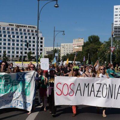 Militarising the Amazon