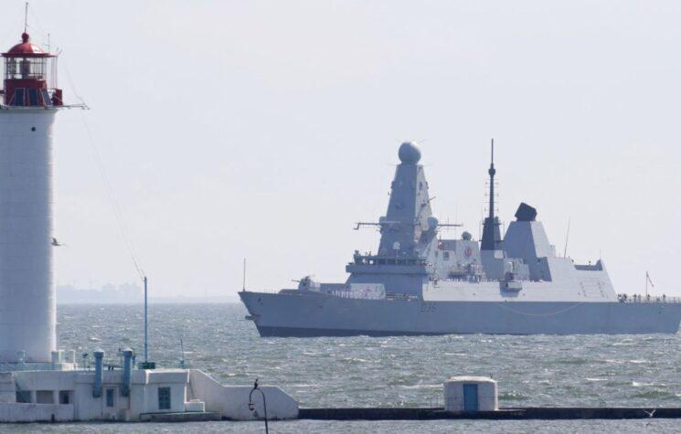 War… It's Just a Shot Away as Brits Provoke Russia