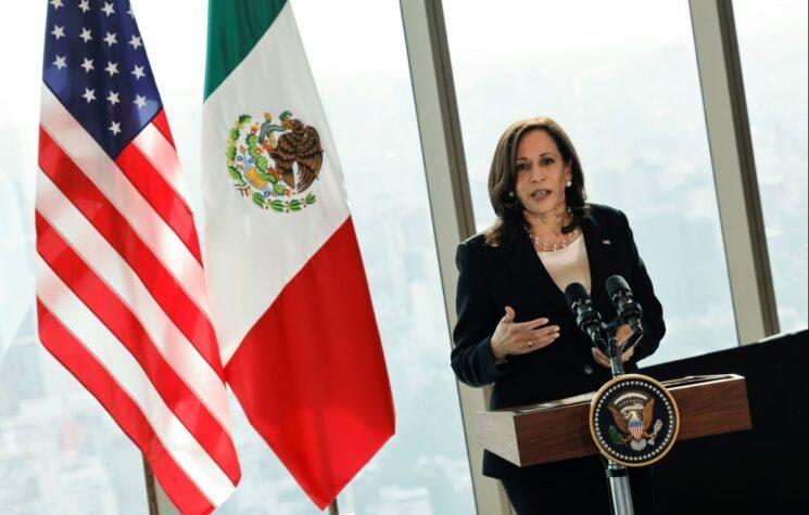 "Kamala's ""New Era"" Mexico Trip was an ""Anti-Trump Coup"" Clean-up Job"