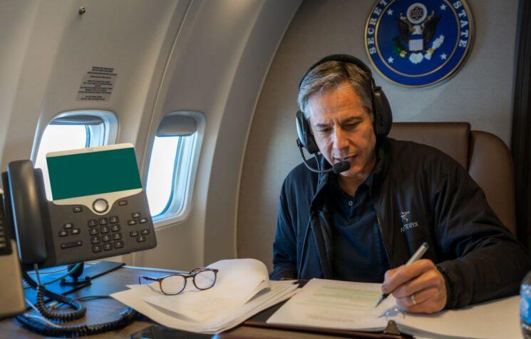Blinken Props Up Biden in European Charade for New Cold War