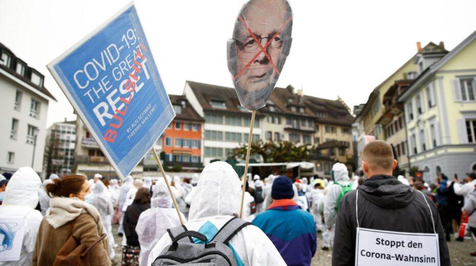 Klaus Schwab der Humanist versus Klaus Schwab der Terrorist