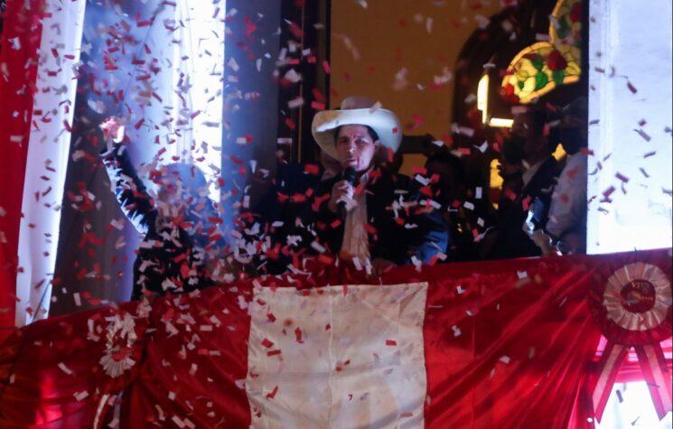 Peru Gets Its First Socialist President, Pedro Castillo