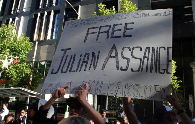 U.S. Regime Hides Global Support for Assange