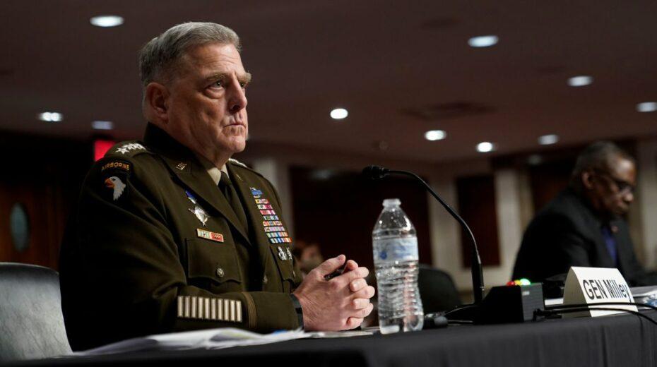 General Milley schlägt aus und zeigt, was mit dem amerikanischen Militär nicht stimmt