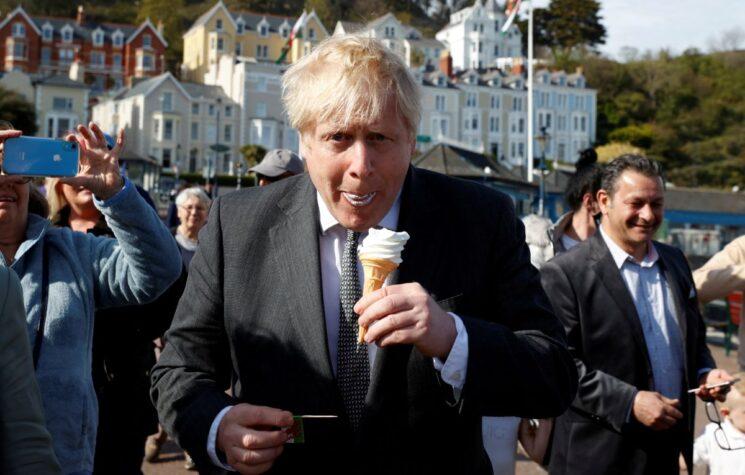 Britain's Johnson Tries to Roam the Globe